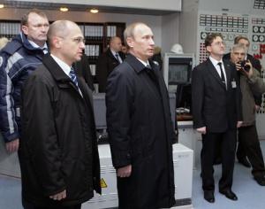 Владимир Путин принял участие в энергопуске РоАЭС