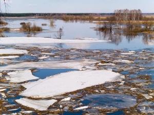 В результате весеннего половодья подтоплен ряд населенных пунктов