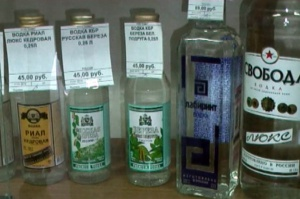 Ростовские оперативники изъяли партию некачественной водки