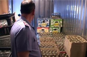 В городе Сальске Ростовской области ликвидирован цех по производству суррогатной водки