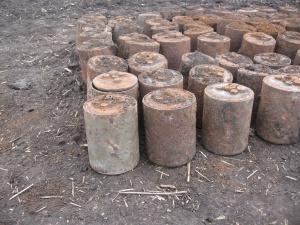 В Ростовской области уничтожены крупные схроны боеприпасов