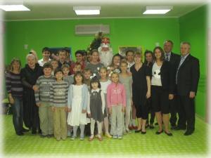 Новогоднее чудо для детей Ростовского детского дома №7