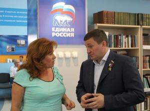 Герой России оценил приемную Медведева