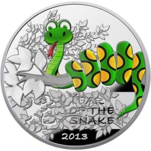 Счастье приносит и взрослым, и детям – мудрая змейка на звонкой монете!