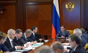 Премьер Медведев провел совещание о мерах поддержки развития животноводства