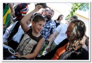Донские и украинские байкеры повезут позитив одиноким детям