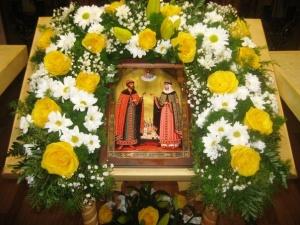 Престольный праздник в день любви, семьи и верности
